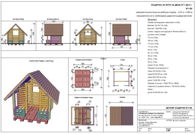 Проект за къщичката