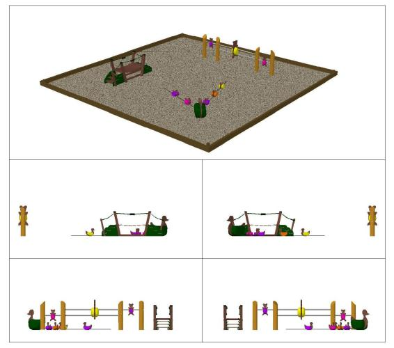 Семпла визуализация на проекта
